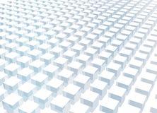 Fond abstrait simple et propre du bloc 3d illustration de vecteur