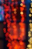 Fond abstrait sous forme de bokeh de lumières Images libres de droits