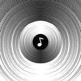 Fond abstrait sur un thème musical illustration libre de droits