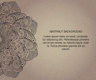 Fond abstrait. Tamplate de carte avec le texte Images stock