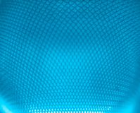 Fond abstrait texturisé bleu de grille Photos libres de droits