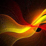 Fond abstrait, vecteur Image stock