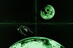 Fond abstrait vert   Photos libres de droits
