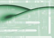 Fond abstrait vert Image libre de droits