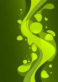 Fond abstrait vert illustration stock
