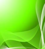 Fond abstrait vert Photos stock