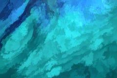 Fond abstrait vert-bleu Images stock