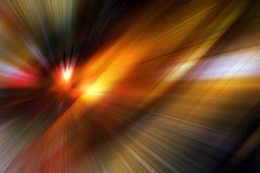Fond abstrait - vitesse et action Images stock