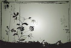 Fond abstrait W floral Photographie stock libre de droits