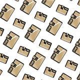 Fond accessoire de textile de portefeuille de mode de griffonnage illustration stock