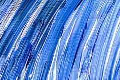 Fond acrylique blanc bleu Photographie stock libre de droits