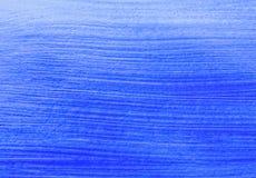 Fond acrylique bleu Photos libres de droits