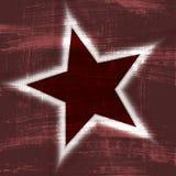 Fond affligé de papier peint d'étoile Photo stock
