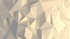 fond aléatoire des trigonals 3d Photographie stock