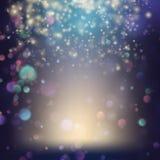 Fond aléatoirement débordant de confettis ENV 10 illustration libre de droits