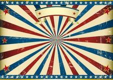 Fond américain texturisé horizontal illustration libre de droits
