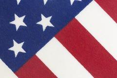 Fond américain de drapeau de bannière étoilée Photographie stock