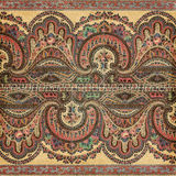 Fond antique d'Indien de Paisley de cru Photos stock