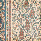 Fond antique d'Indien de Paisley de cru Photographie stock libre de droits