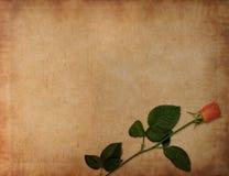 Fond antique de lettre d'amour Photos stock