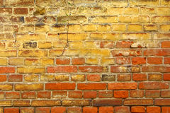 Fond antique de mur Image libre de droits