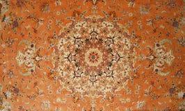 Fond antique de tapis image stock