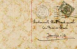 Fond antique sale de collage de papier peint floral de vintage Image libre de droits