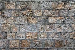 Fond approximatif de mur en pierre Photo stock