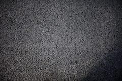 Fond approximatif noir de texture de route goudronnée, vue supérieure photos libres de droits
