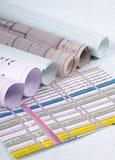 Fond architectural. image libre de droits