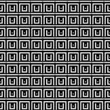 Fond architectural abstrait Texture géométrique sans joint Images stock