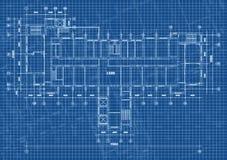 Fond architectural avec les dessins techniques Les mod?les pr?voient la texture Partie de dessin du projet architectural illustration de vecteur