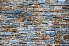Fond architectural d'un mur en pierre Photos stock
