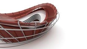 Fond architectural de concept Photographie stock libre de droits