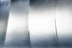 Fond argenté abstrait en aluminium en métal Images stock