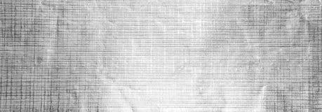 Fond argenté abstrait panoramique de papier d'aluminium photographie stock libre de droits