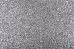 Fond argenté avec la texture de scintillement Photo stock