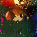 Fond artificiel coloré avec des bulles Image stock
