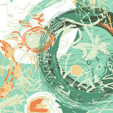 Fond artistique illustration libre de droits