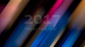 Fond artistique abstrait Lumière colorée Defocused de spectre Images libres de droits