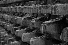 Fond artistique abstrait noir et blanc image libre de droits