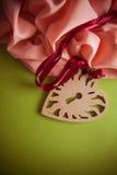 Fond artistique avec la draperie rose molle Photo stock