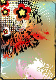 Fond artistique coloré Images stock