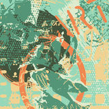 Fond artistique d'Abstact illustration stock