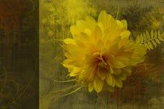 Fond artistique de fleur illustration de vecteur