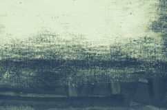 Fond artistique de toile peint par bleu Photos libres de droits