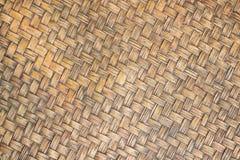 Fond asiatique naturel en bambou fait main Image stock