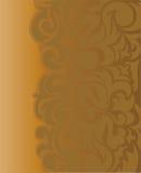 Fond asymétrique de Brown Images stock