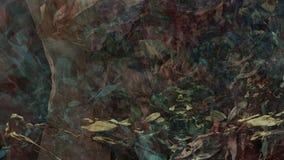 Fond atmosphérique texturisé mystérieux foncé changeant abstrait de mouvement lent de mur de modèle de fleur illustration libre de droits