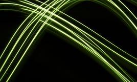 Fond au néon de fibres Photos libres de droits